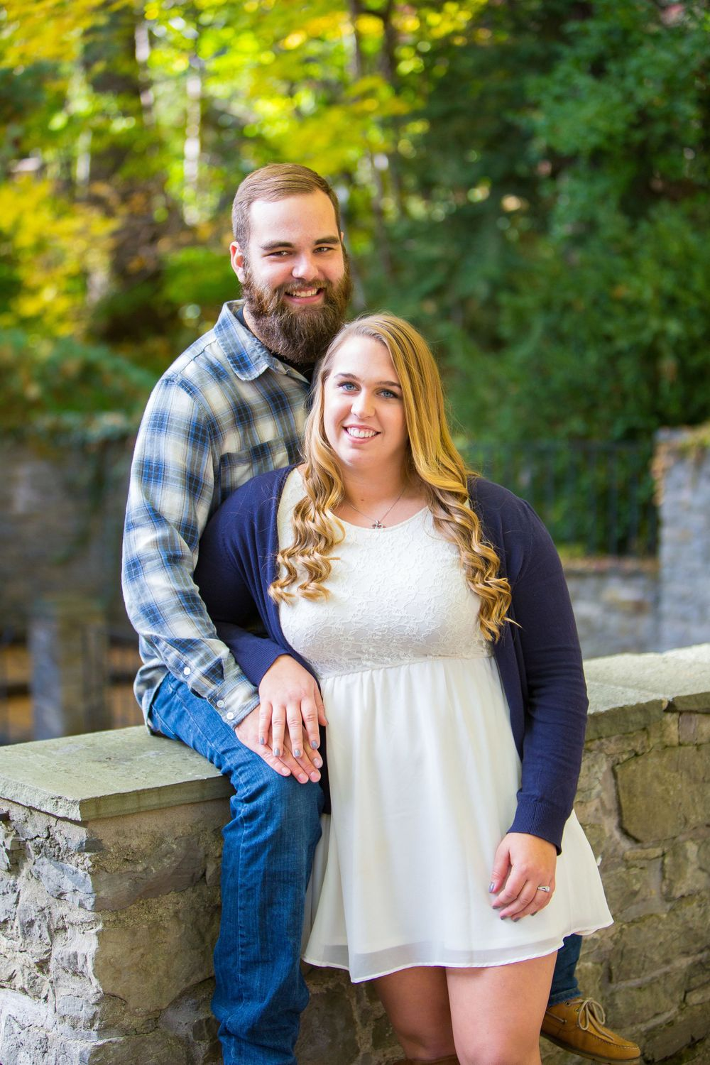 Engagement Shoot at Highland Park in Rochester, NY