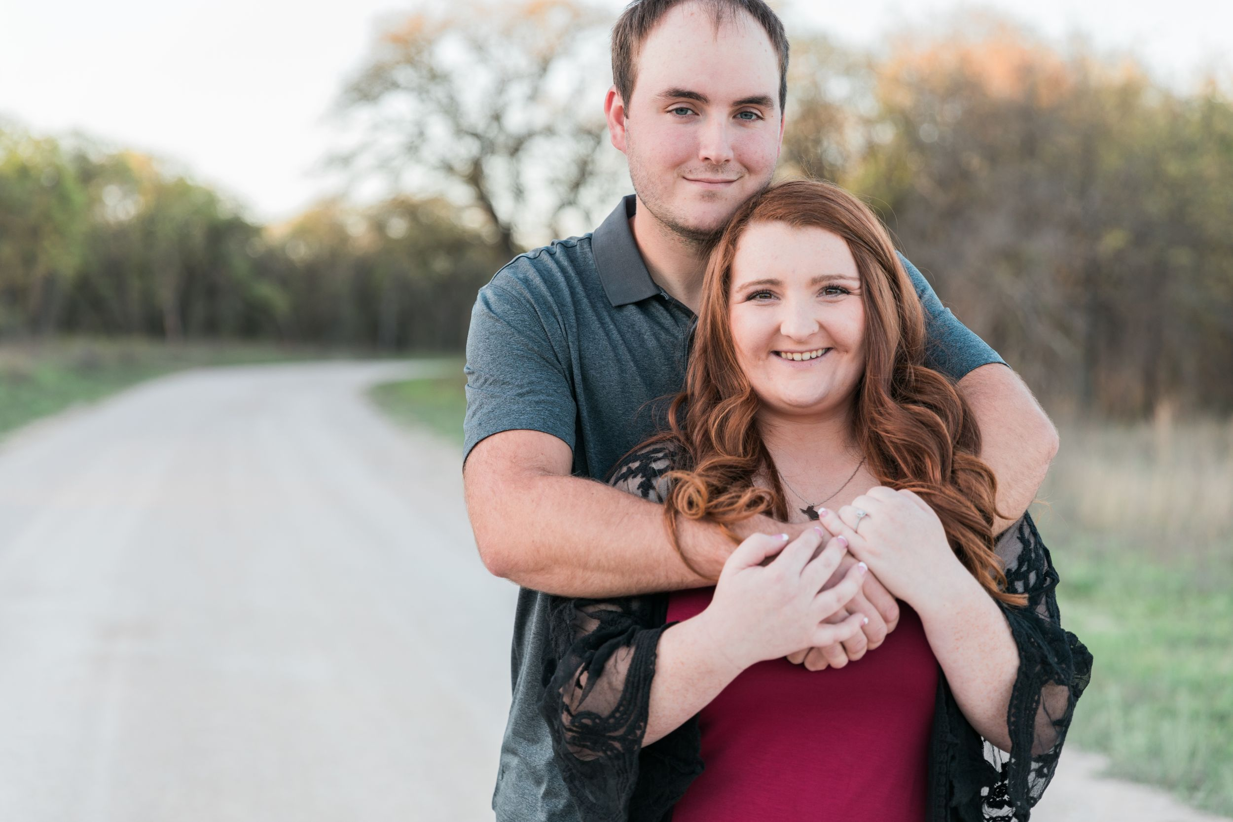 Texas-Spring-Engagement-Lake-Decatur