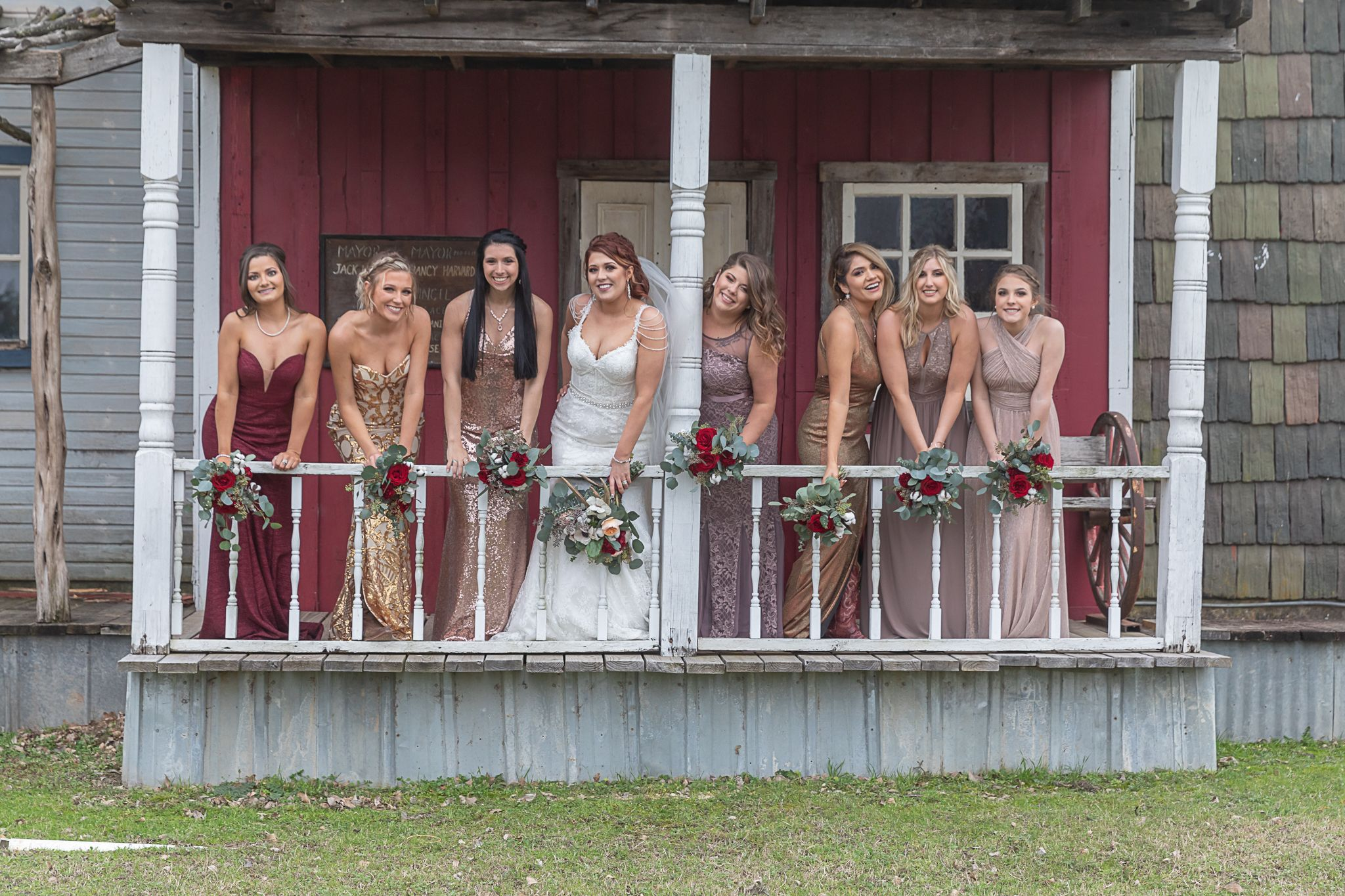 Bridal Party | Texas Safari Ranch | Clifton, Tx