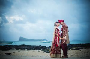 indian wedding - Nicolas Fanny - Mauritius Wedding Photographer - Destination Wedding
