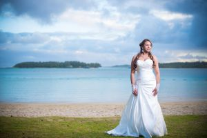 Beach Bride - Nicolas Fanny - Mauritius Wedding Photographer - Destination Wedding