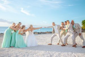 Tug of war - Nicolas Fanny - Mauritius Wedding Photographer - Destination Wedding