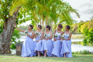 Bridesmaid - Nicolas Fanny - Mauritius Wedding Photographer - Destination Wedding