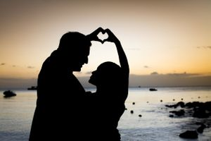 Couple heart - Love - Nicolas Fanny - Mauritius Wedding Photographer - Destination Wedding