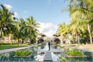 outrigger wedding Nicolas Fanny - Mauritius Wedding Photographer - Destination Wedding