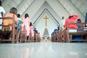 Wedding church ceremony - Nicolas Fanny - Mauritius Wedding Photographer - Destination Wedding