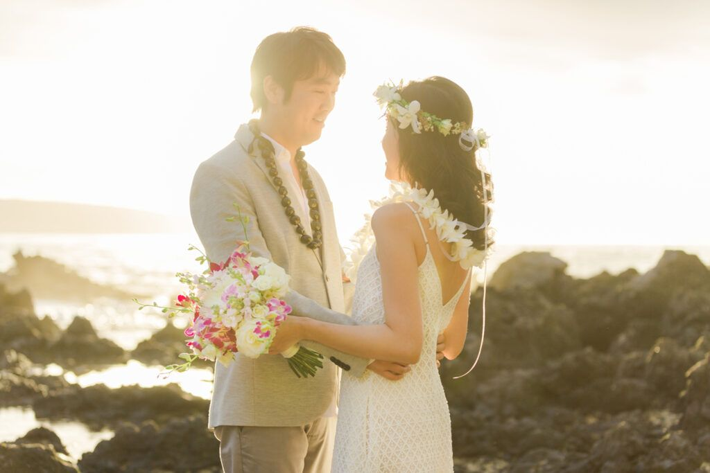 maui elopement ceremony