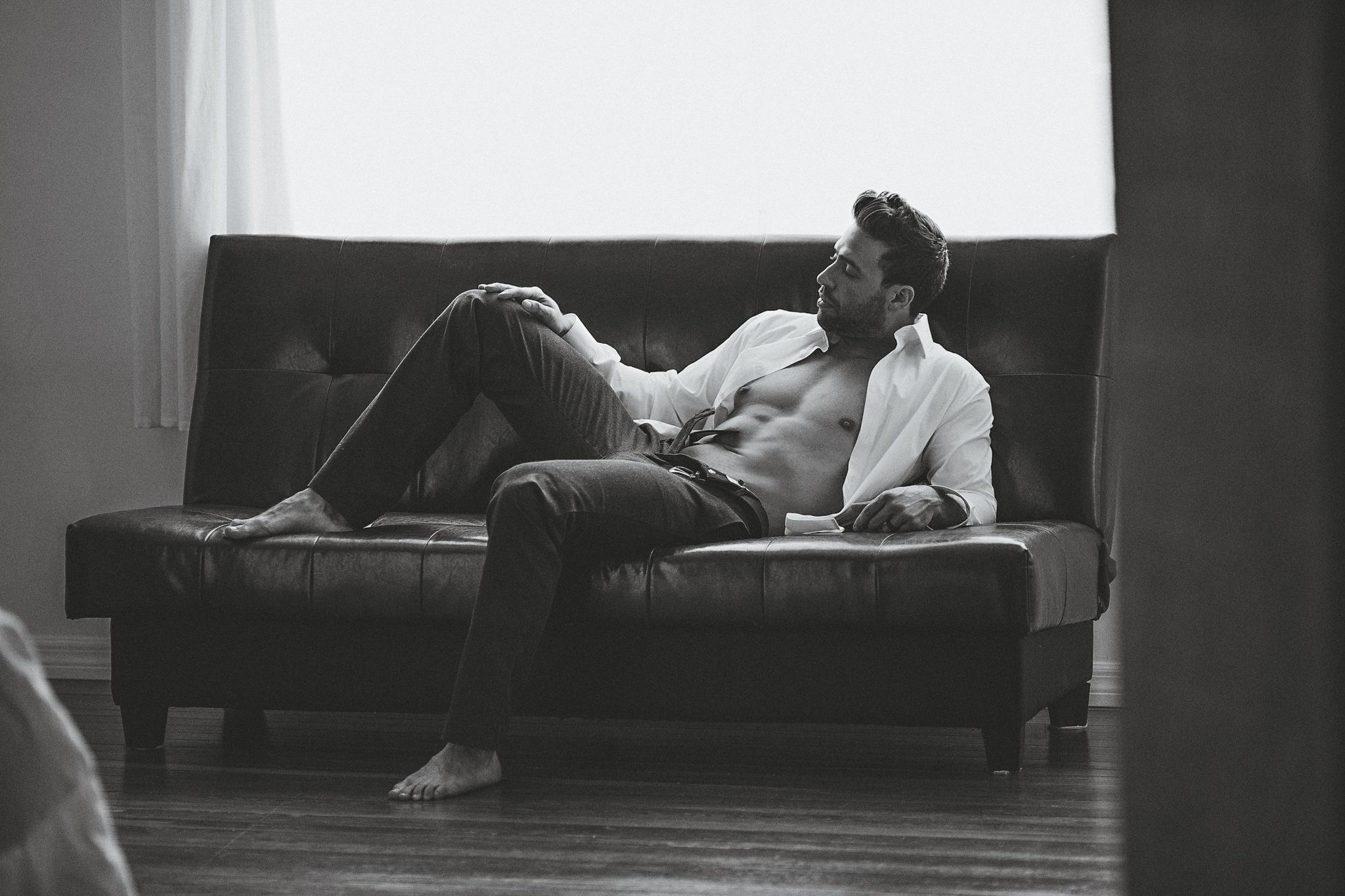 nyc male boudoir photography