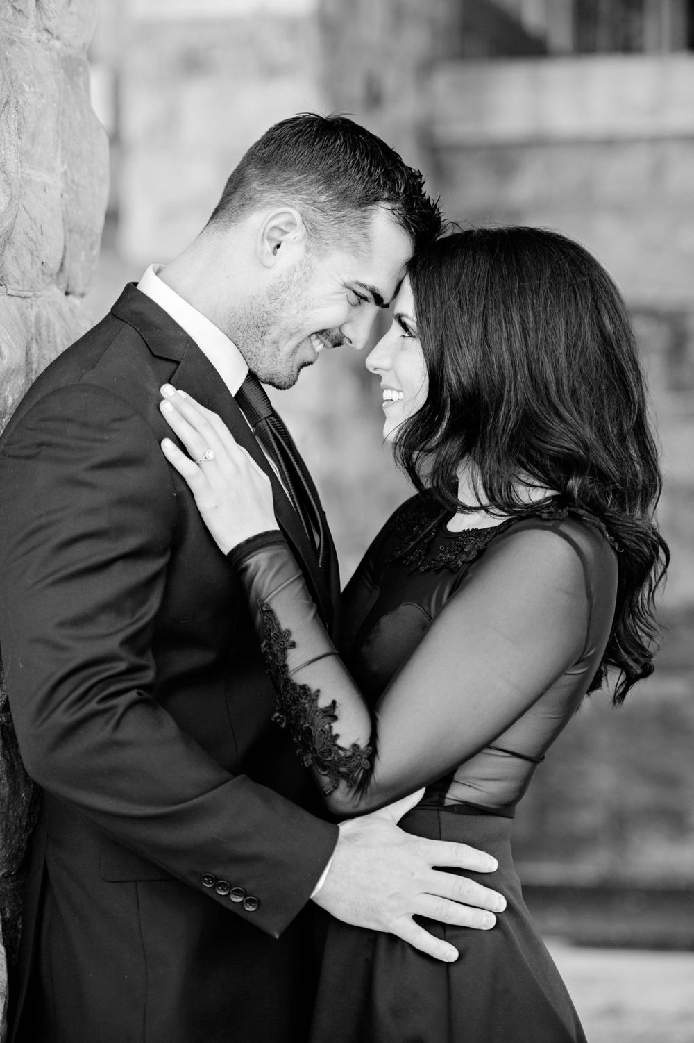 Glamorgan Castle Alliance engagement session in February