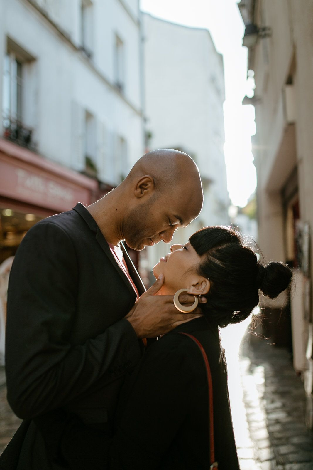 Paris engagement photo shoot