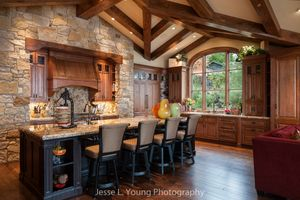 Custom interiors photography, kitchen remodel
