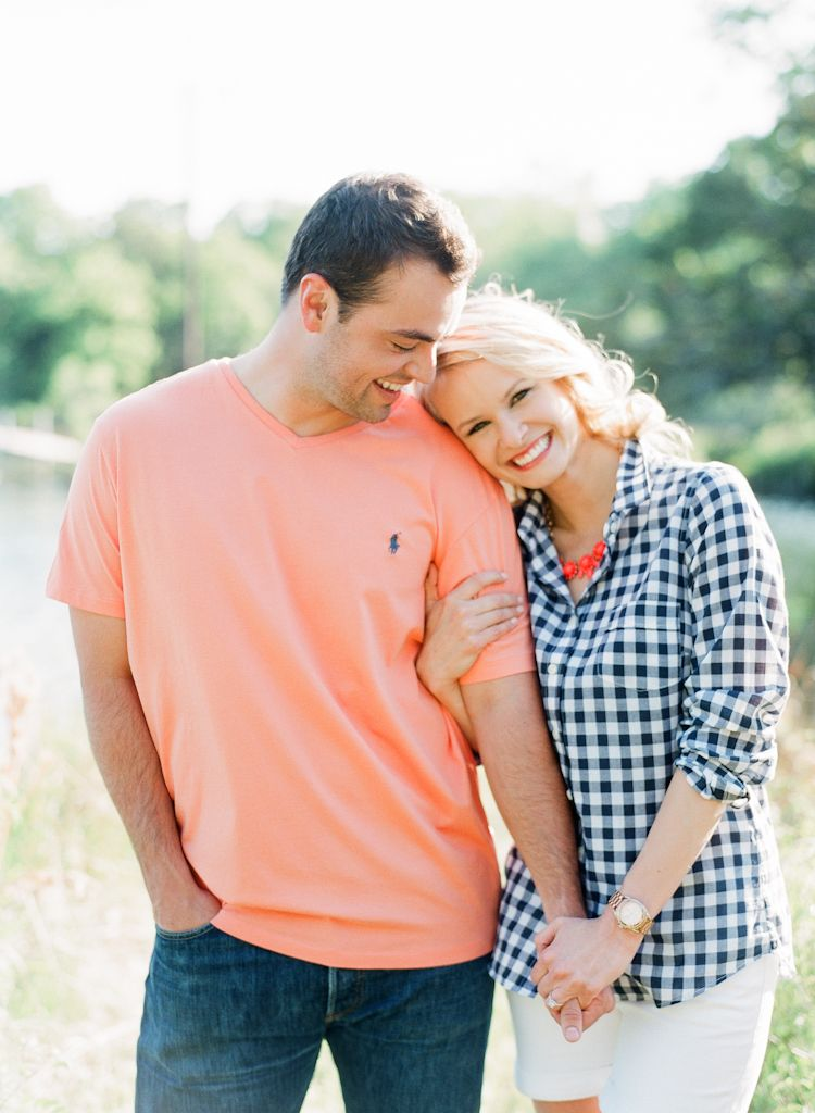 Oklahoma wedding engagement photographer engagements Aaron Snow Photography country lake summer couple Guthrie