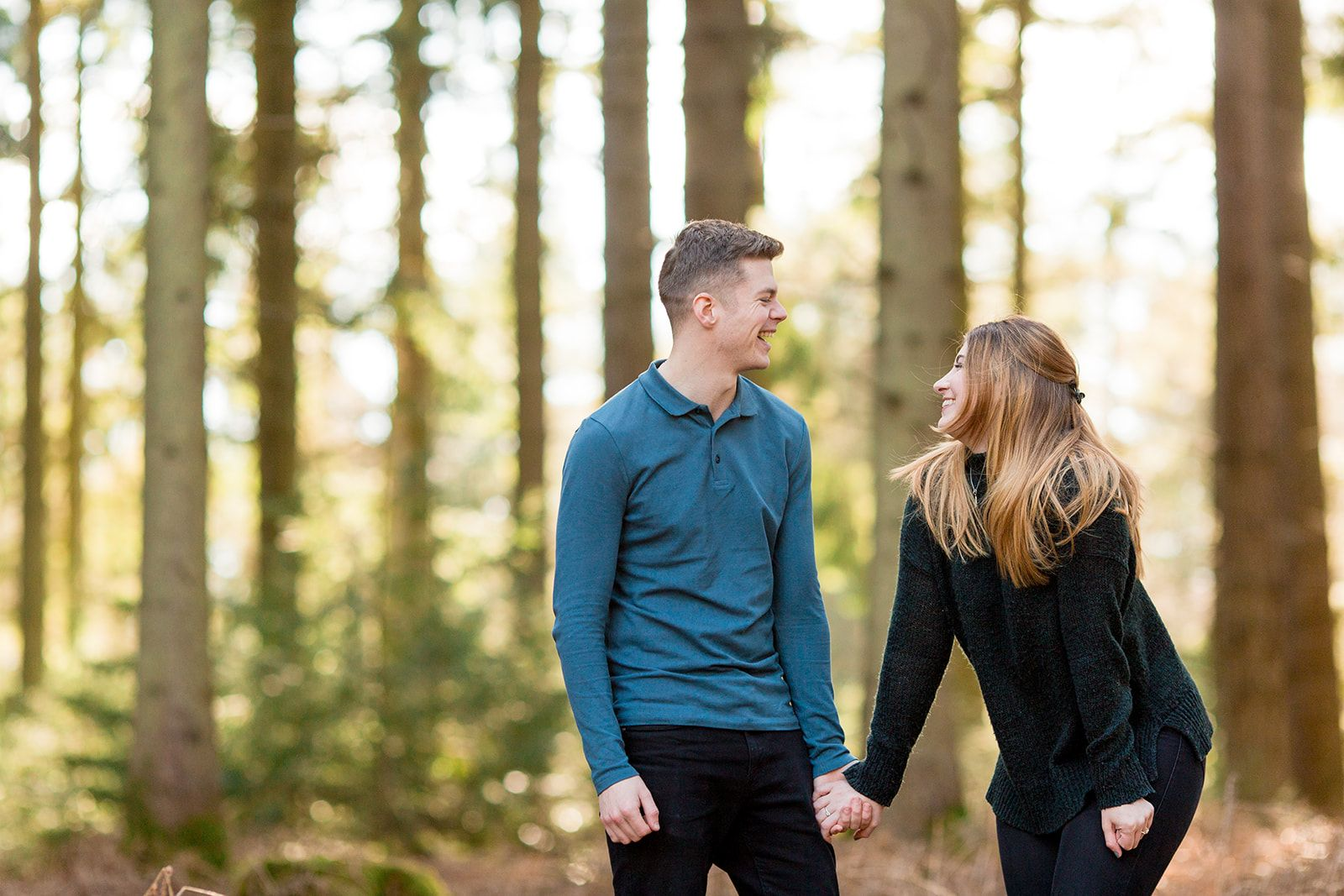 Rhinefield drive new forest engagement photos