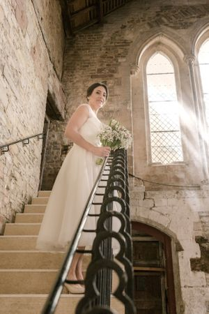 Bride at Gloucester Blackfriars Priory