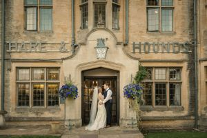 Hare and Hounds Wedding Couple