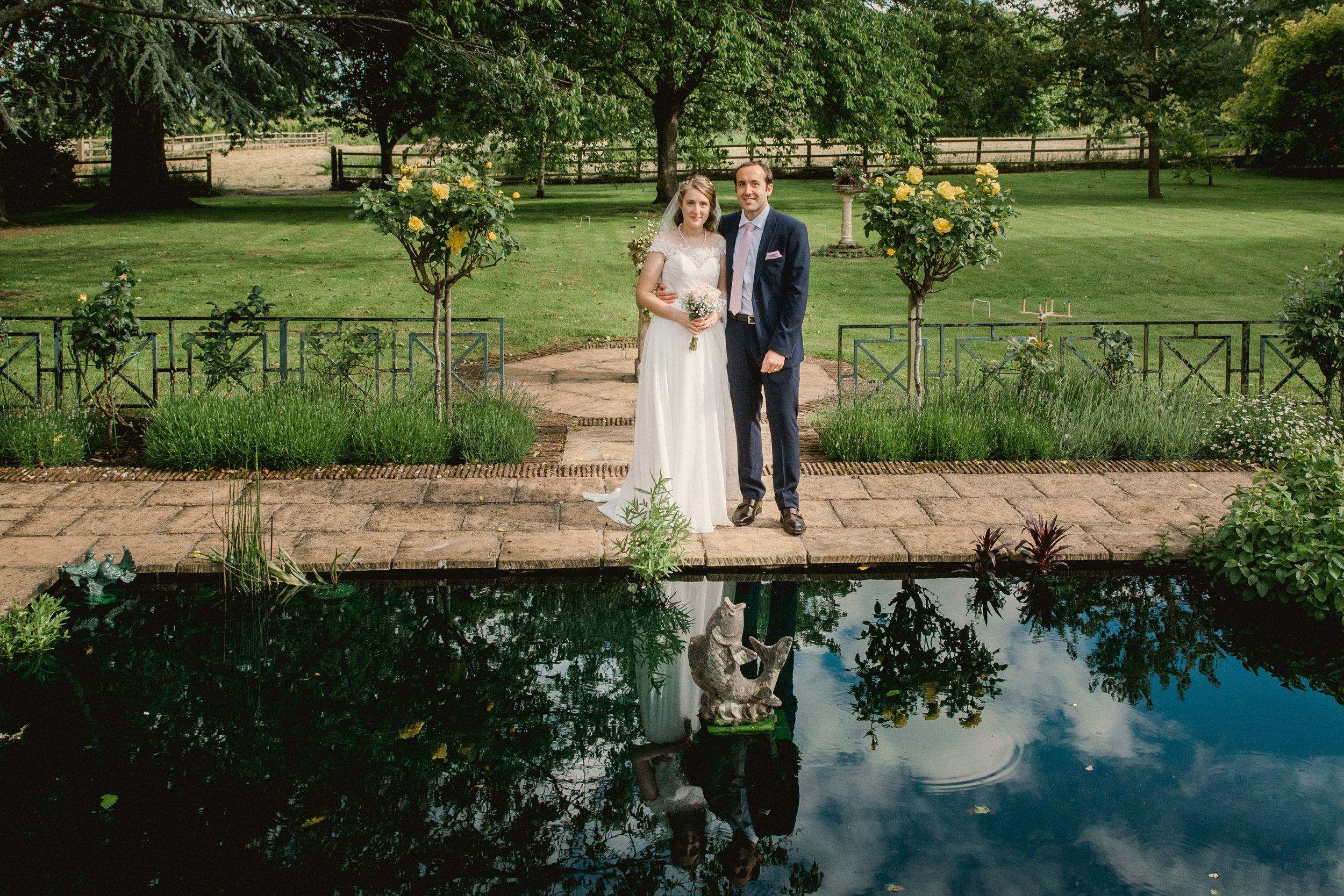 Bride & Groom Cotswold Wedding Photography