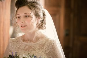 Bride at Elmore Court
