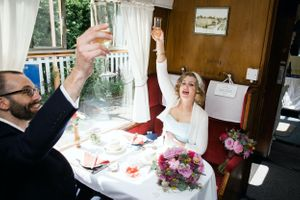 Why not get married on a train?