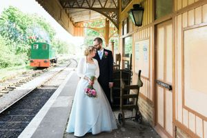 Wedding on a train