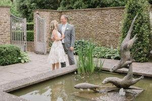 Bride & Groom at Calcot Manor