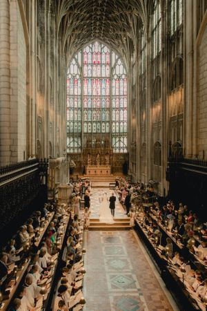 Gloucester Cathedral wedding