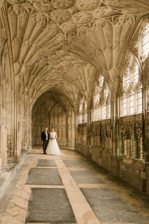 Wedding at Gloucester Cathedral