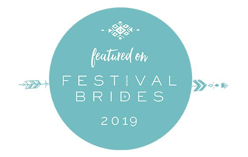 Faye Amare photography featured on Festival Brides blog