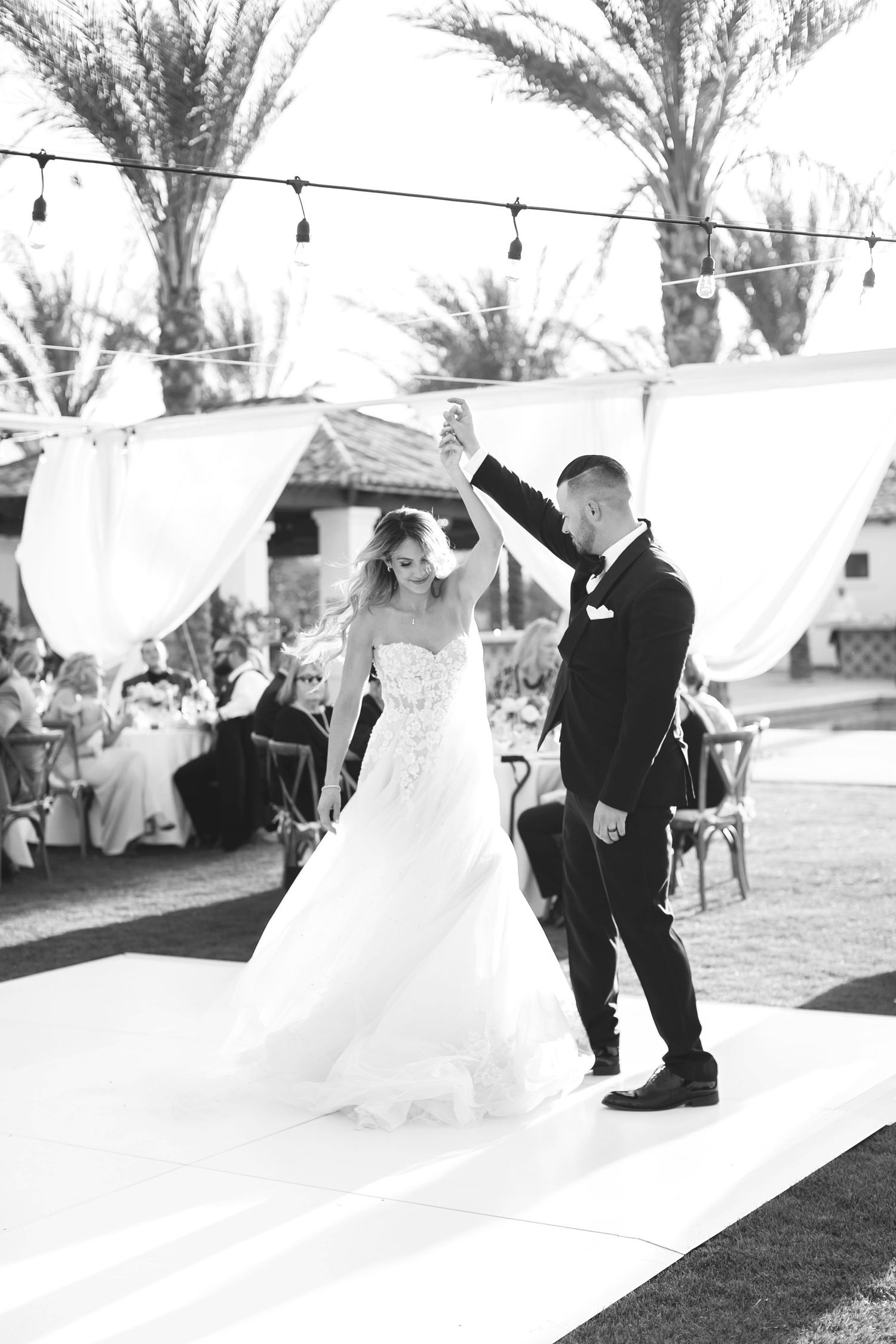 Alyssa Marie photography old polo estate wedding Palm Springs wedding