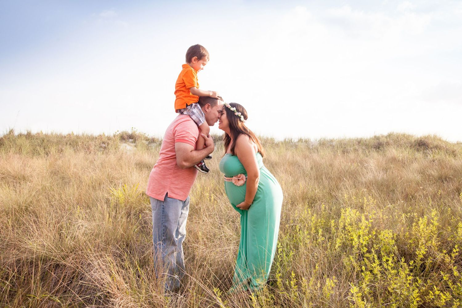 abundant grace photography, affordable maternity photography, Honeymoon Island, Dunedin
