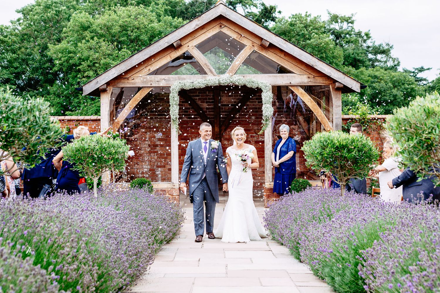 wedding photography at Upton Barn and Walled Garden Devon