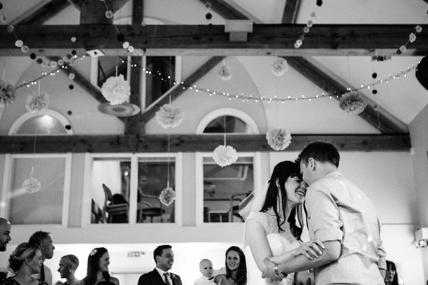 first dance at wedding in Cornwall