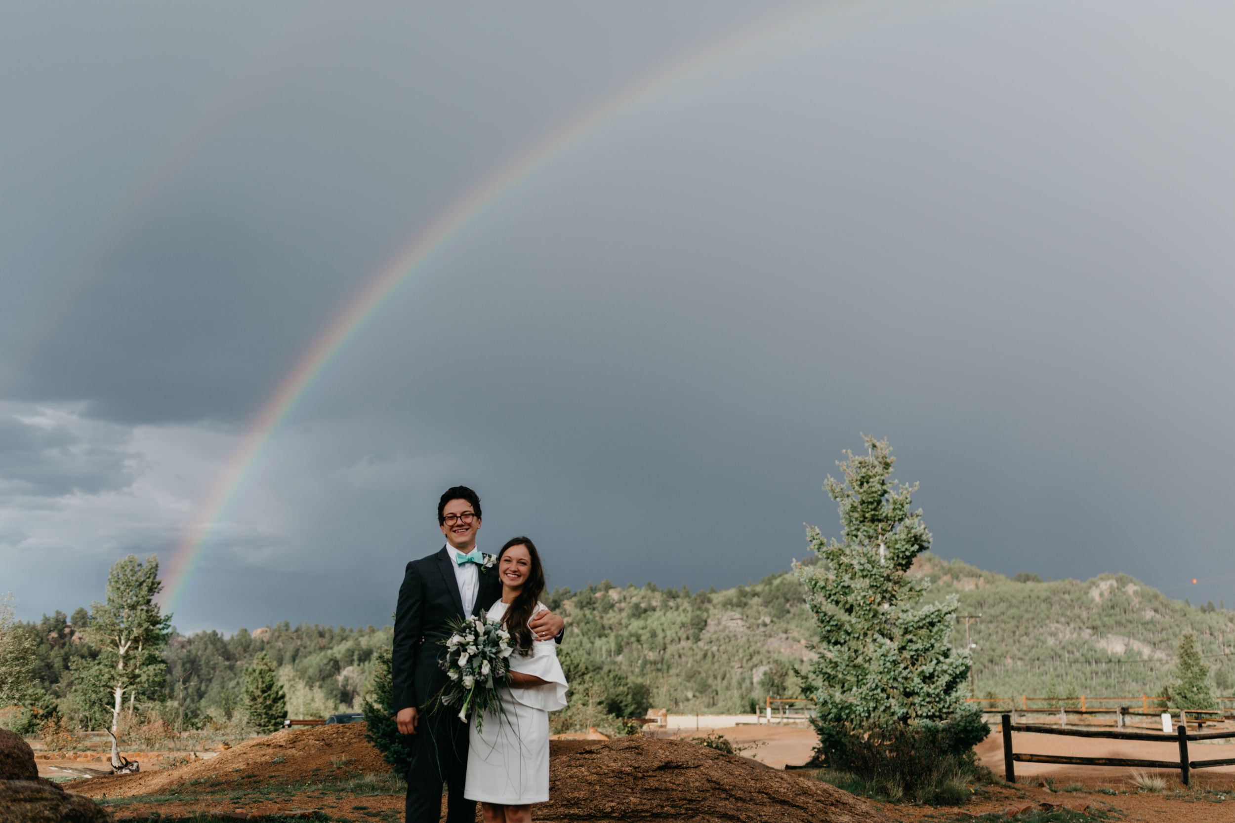rainbow, wedding inspiration, colorado, wedding photographer, best of colorado weddings, beautiful wedding, simple, fun