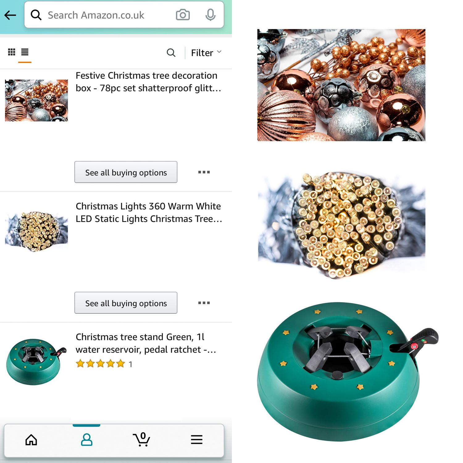 Product photography packshots on ecommerce website Amazon by Danny Loo
