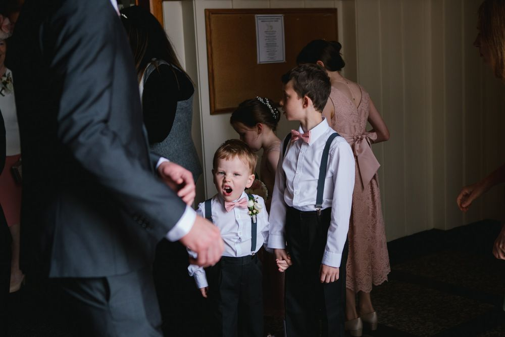 ring bearer cute kid