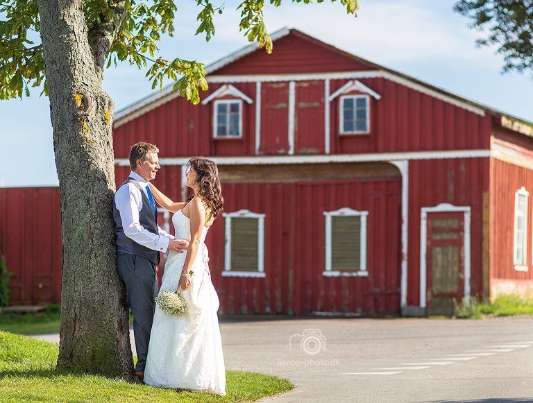 Wedding photo at the old shipyard