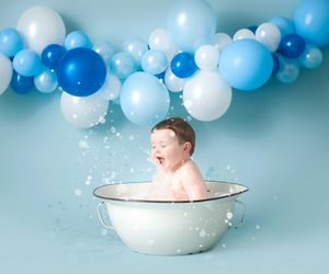 boys cake smash and splash session liverpool