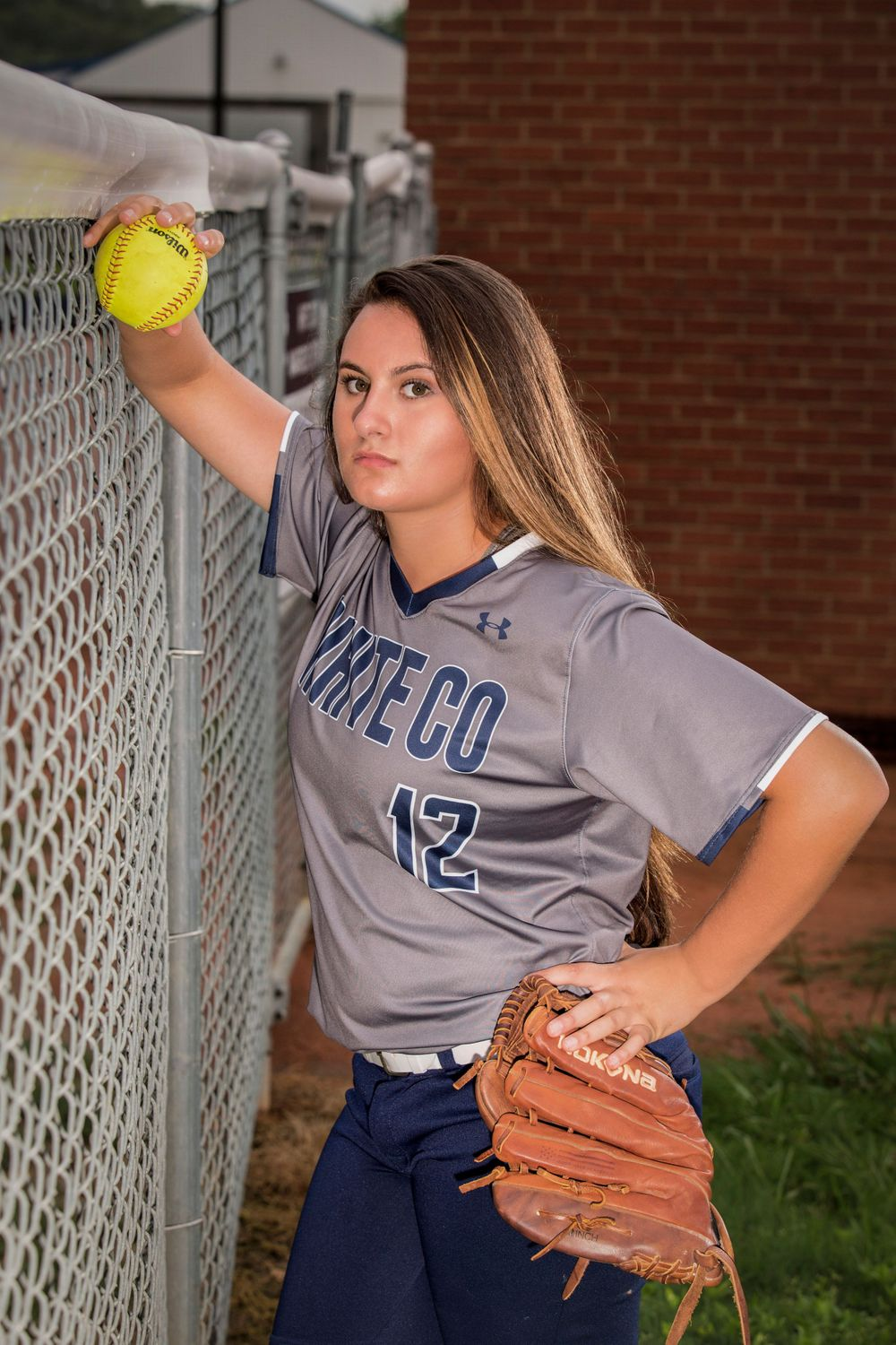 Senior Portrait Softball