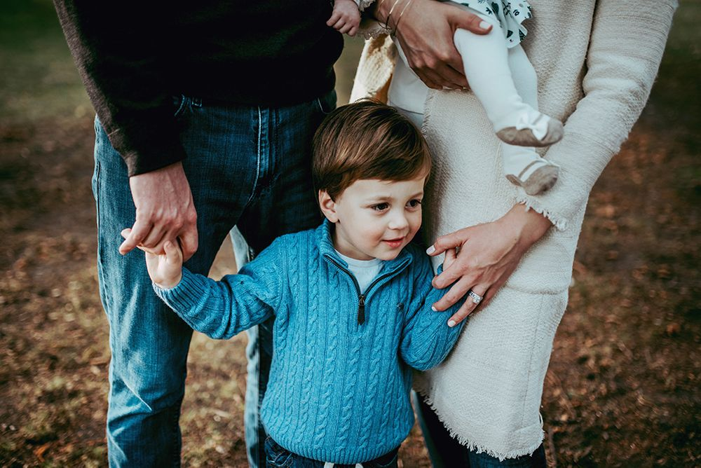 west London family photography session