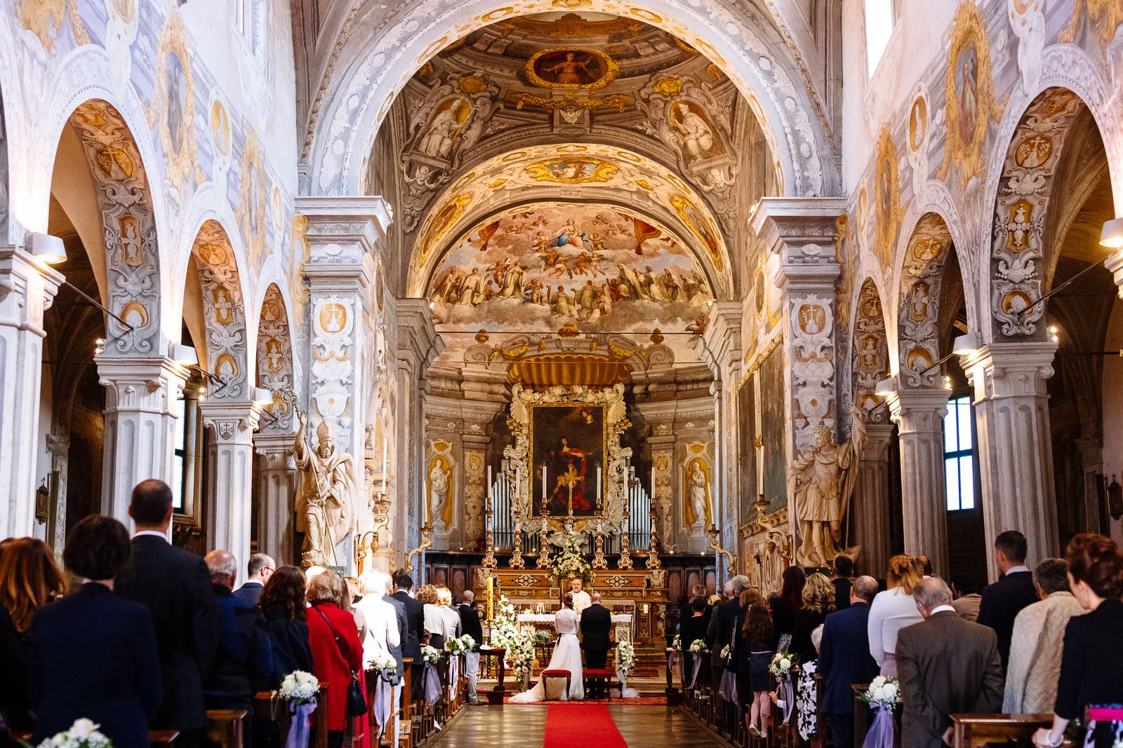 church legal wedding ceremony in Italy