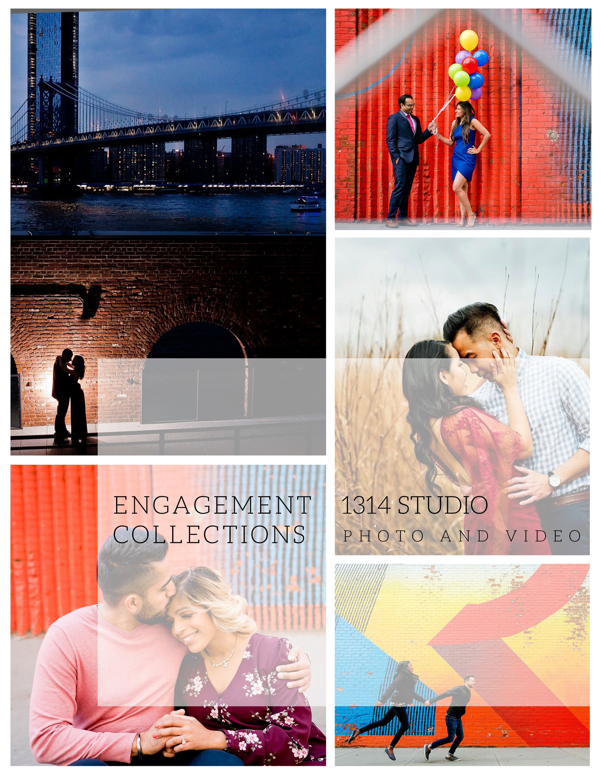 1314 studio engagement photo package