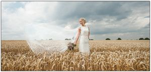 wedding photographer at the Mythe barn