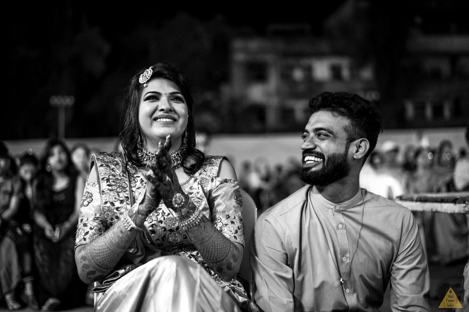 Bride & her brother get's emotional during a surprising sangeet performance by relatives