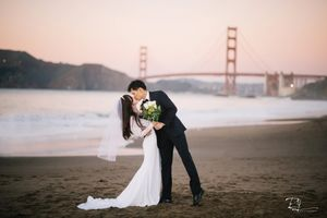 elvis yu photography california engagement wedding day destination wedding golden gate bridge