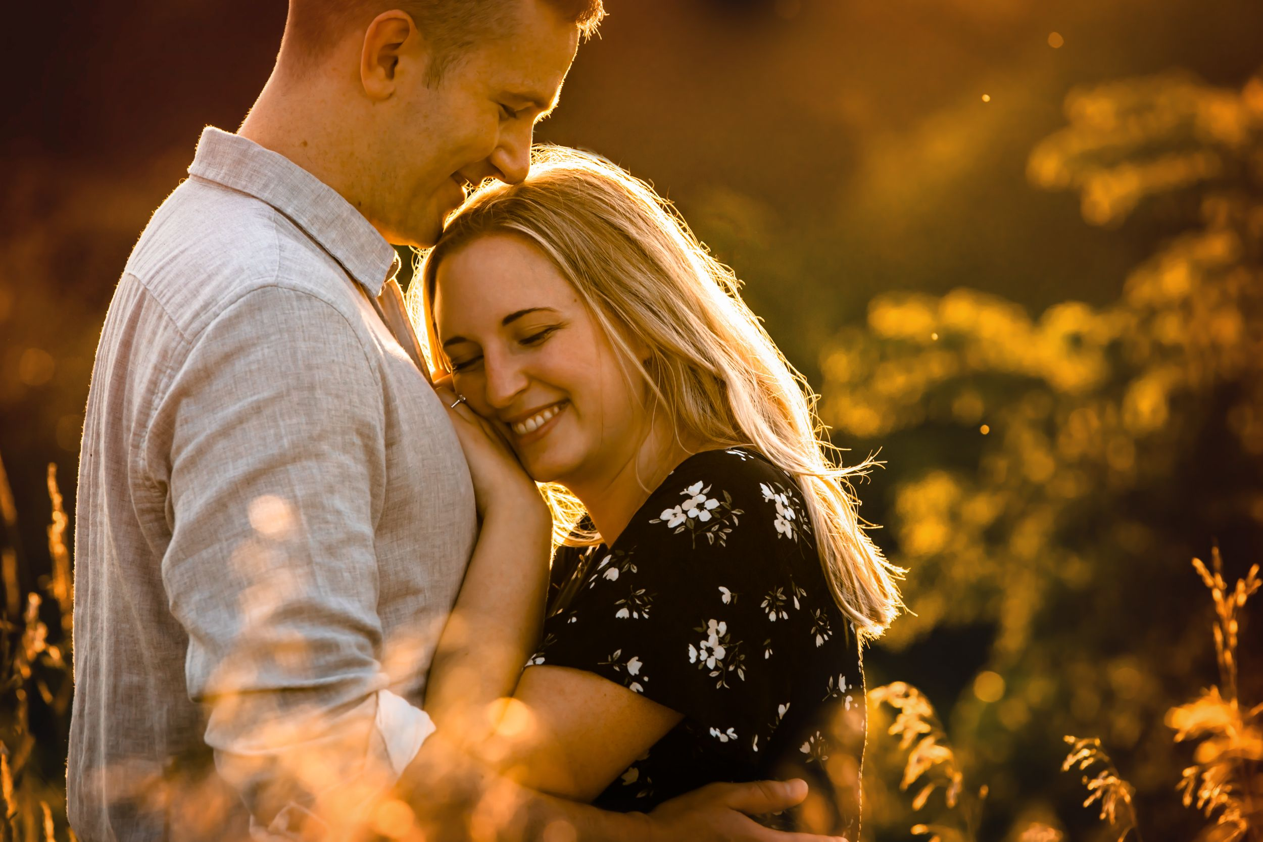 Dreamy summer engagement photos in Dundas and Ancaster Ontario by London wedding photographer Shawn Van Daele