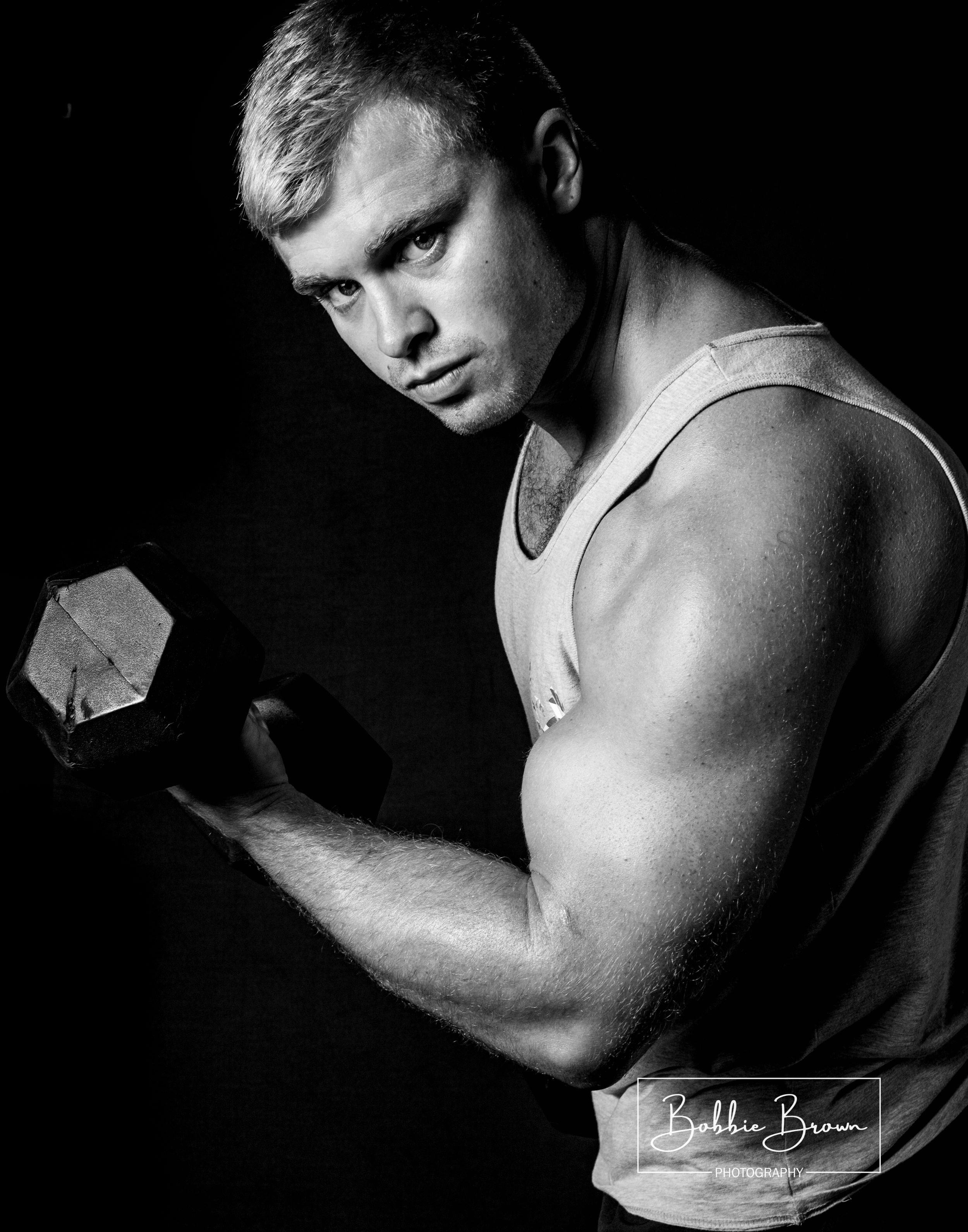 Fitness photography, fitness portrait