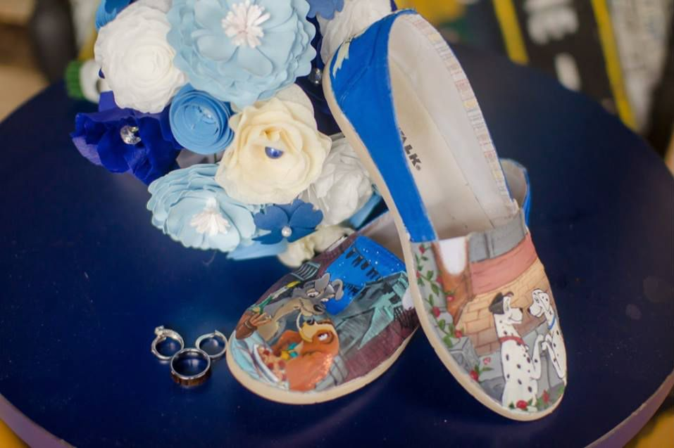 Michelle-Vazul-Photography-Custom-Disney-Wedding-Shoes