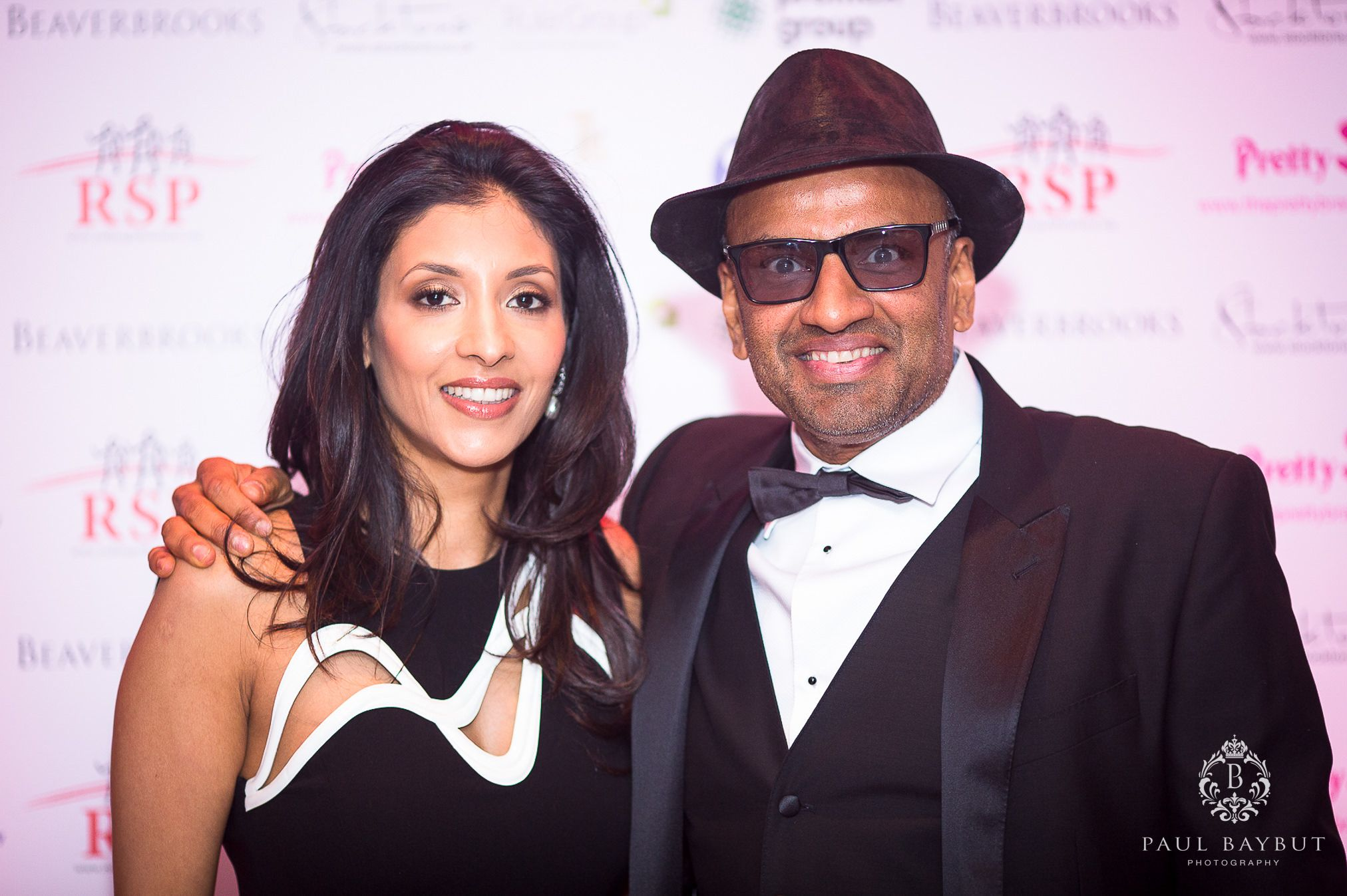 B&M owner Bobby Arora and his wife at a Charity Ball evening in a Manchester hotel