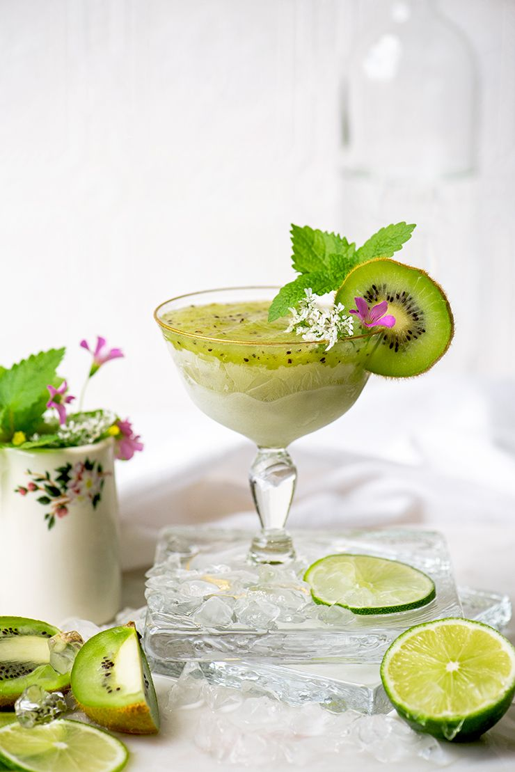 Kiwi Daiquiri Drink Photography by Charity Beth Long