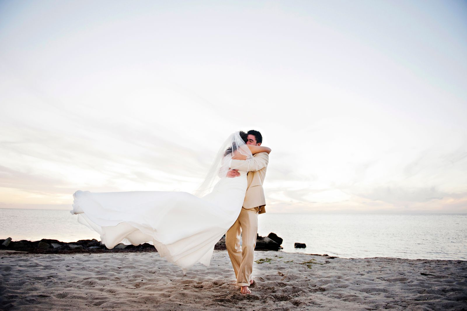 Avon, North Carolina, beach wedding