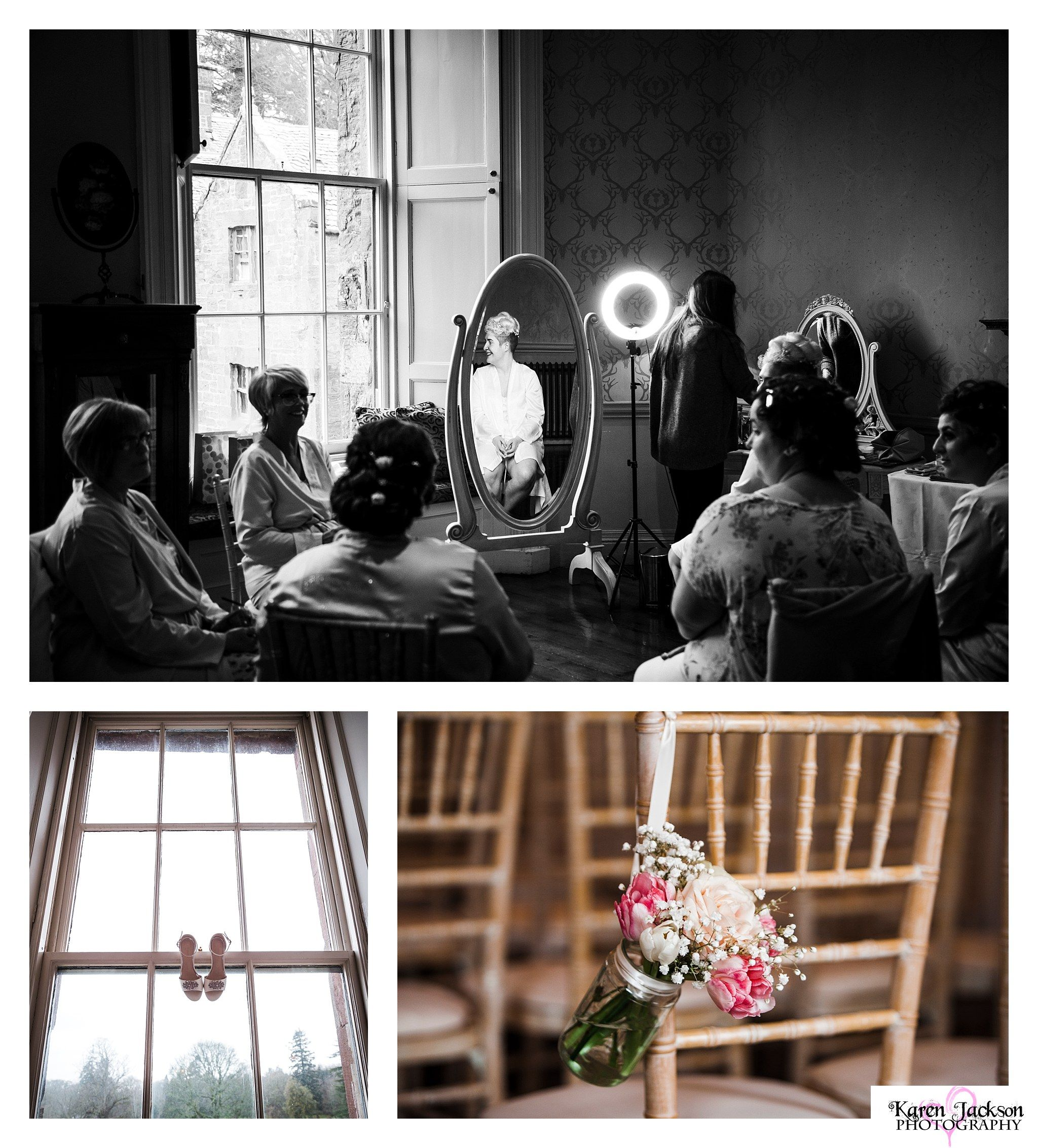 Fasque Castle wedding Photographer Aberdeenshire